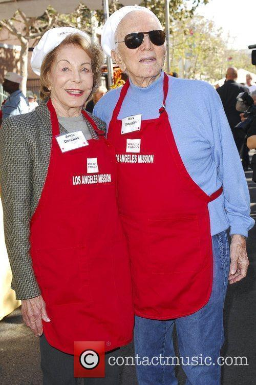 Kirk Douglas and Anne Douglas 9