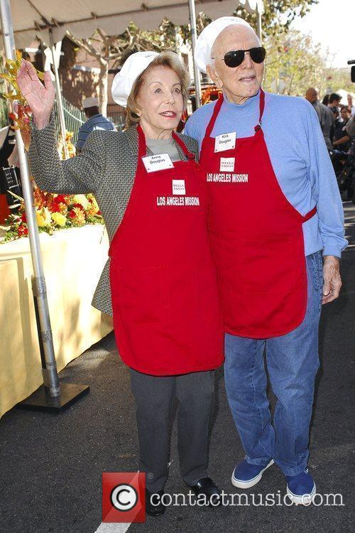 Kirk Douglas and Anne Douglas 7