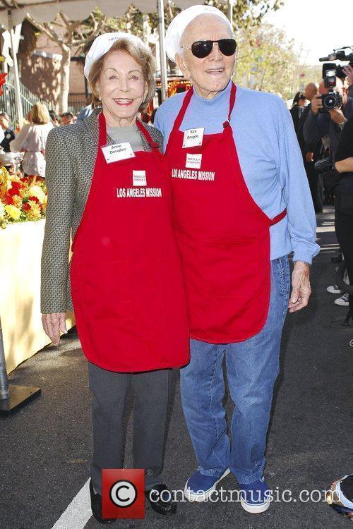 Kirk Douglas and Anne Douglas 1