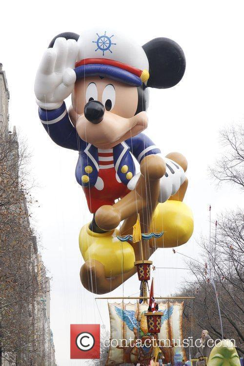 Sailor Mickey Mouse The 83rd Annual Macy's Thanksgiving...