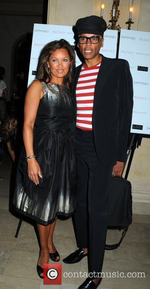 Vanessa Williams and RuPaul