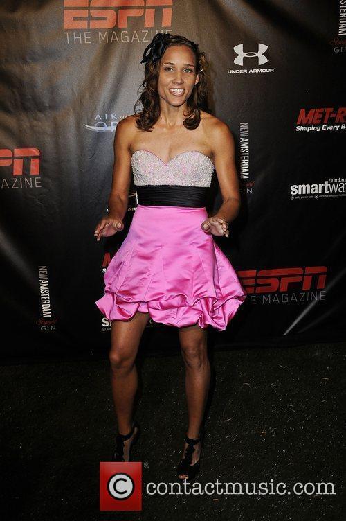 LoLo Jones  ESPN Magazine 'The Body' issue...