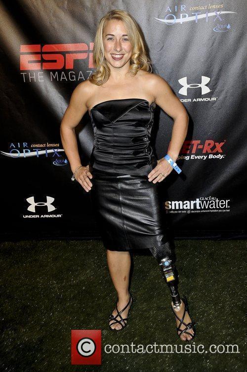 Sarah Reinertsen ESPN Magazine 'The Body' issue event...