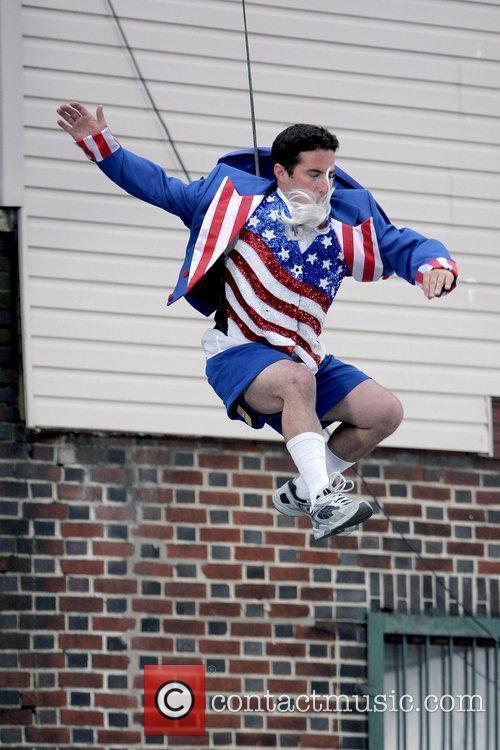 Stunt men on Gerard Butler's new film 'The...