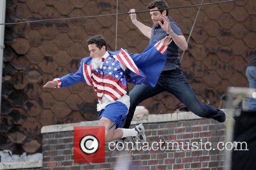 Stunt Men and Gerard Butler 7