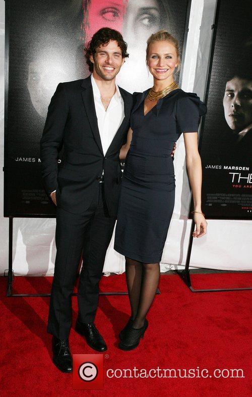 James Marsden and Cameron Diaz The NY Preimere...
