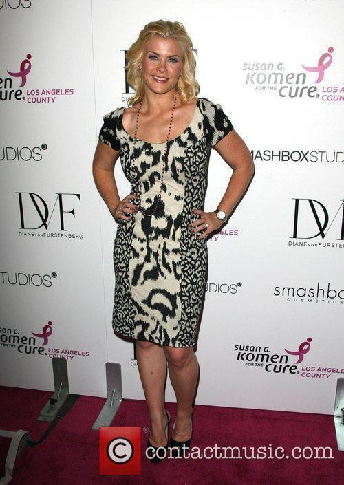 Alison Sweeney Fashion show for Susan G. Komen...