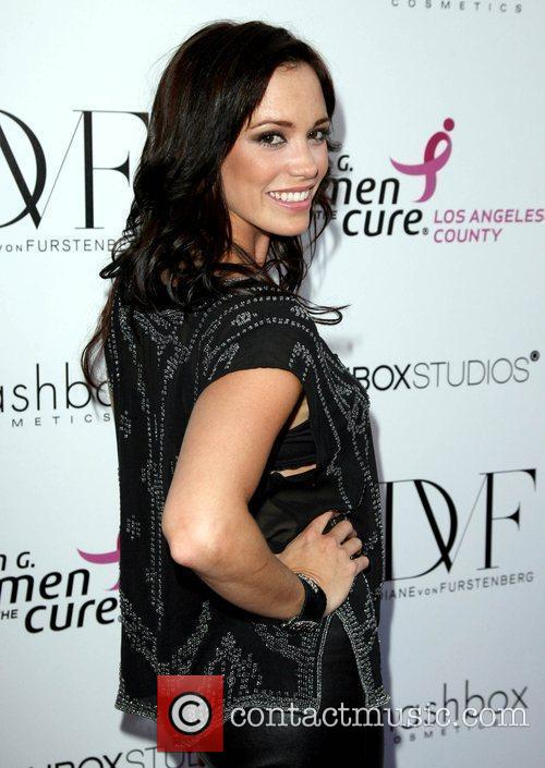 Jessica Sutta Fashion show for Susan G. Komen...