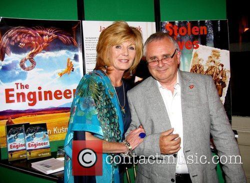 Rula Lenska and Jan Kusmirek attend the book...