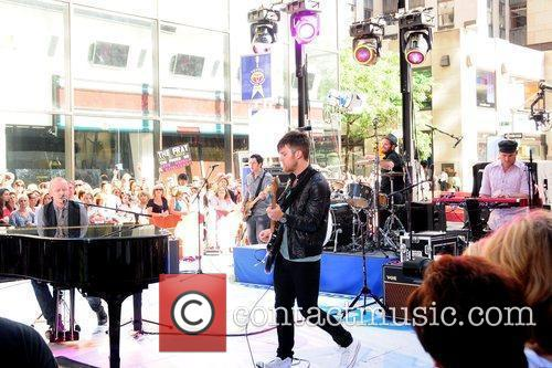 The Fray performing live on the 'Today Show's...