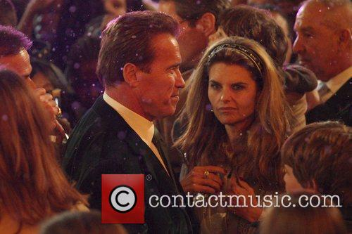 Arnold Schwarzenegger and Maria Shriver The Grove's annual...