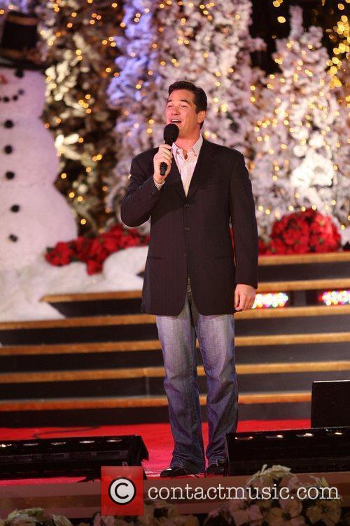 Dean Cain The Grove's annual tree lighting celebration...