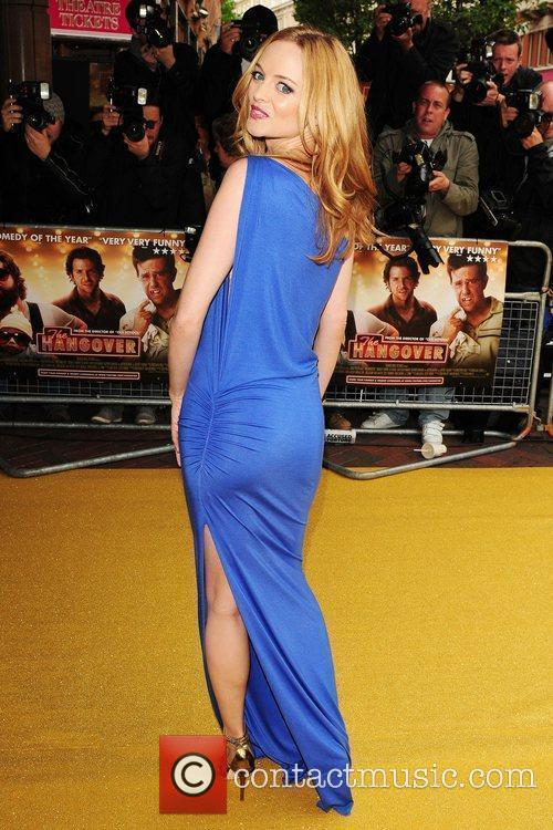 Heather Graham UK Premiere of 'The Hangover' held...