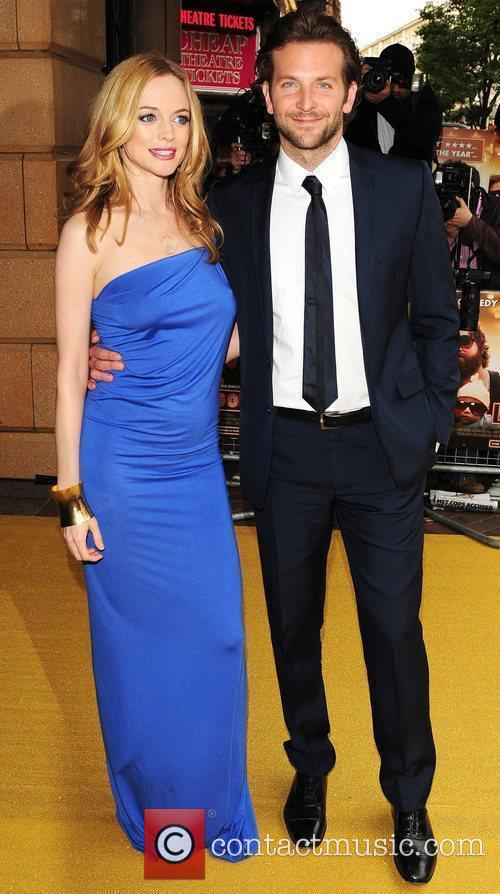 Heather Graham and Bradley Cooper UK Premiere of...