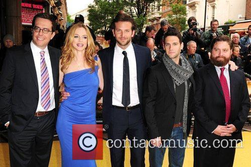Todd Philips, Heather Graham and Justin Bartha 3