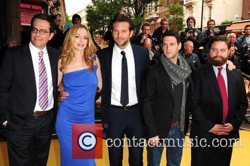 Todd Philips, Heather Graham and Justin Bartha 2