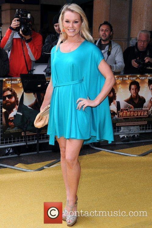 Amy Guy UK Premiere of 'The Hangover' held...