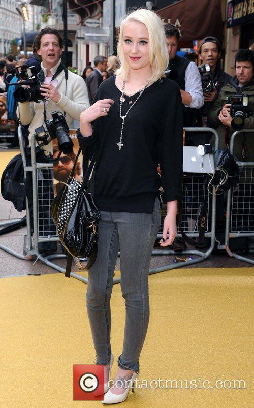 Lily Loveless UK Premiere of 'The Hangover' held...