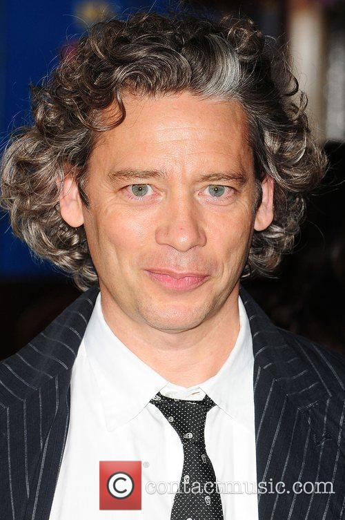 Dexter Fletcher UK Premiere of 'The Hangover' held...