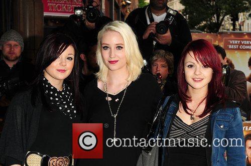Kathryn Prescott, Lily Loveless and Megan Prescott 3