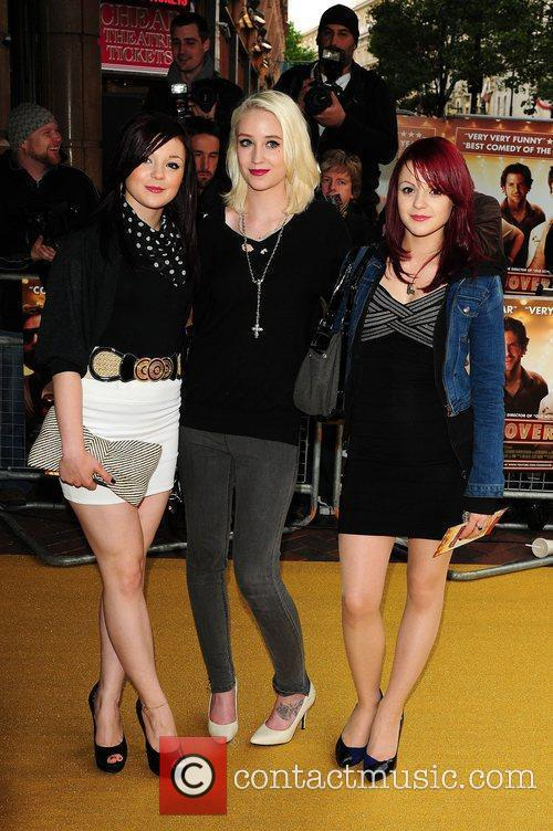 Kathryn Prescott, Lily Loveless and Megan Prescott
