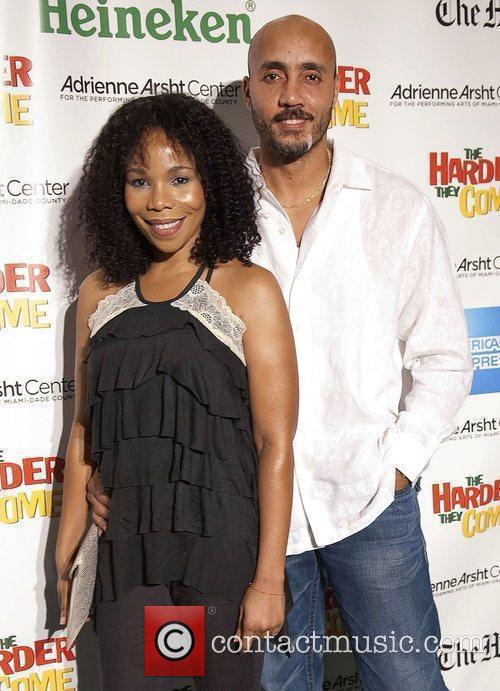 Cedella Marley and Dave Minto in Miami