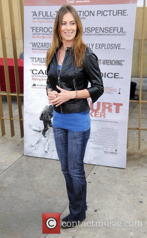 Kathryn Bigelow 'The Hurt Locker' premiere held at...