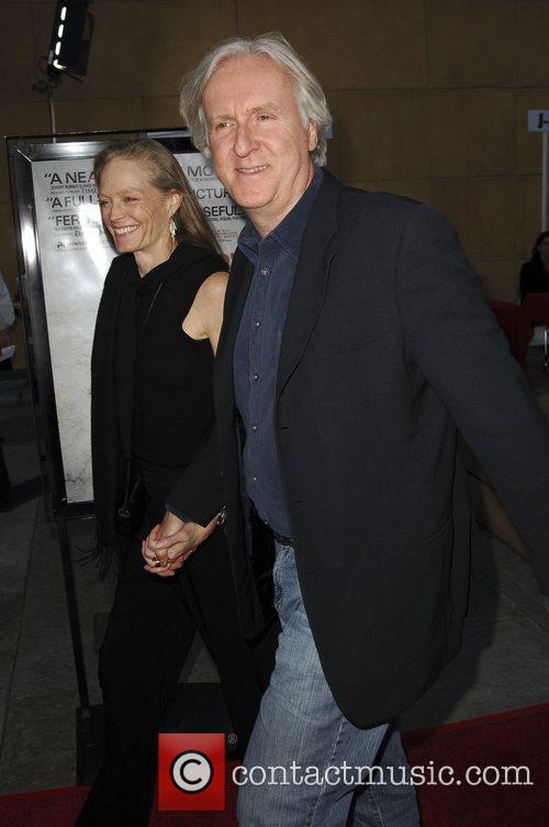 James Cameron 'The Hurt Locker' premiere held at...
