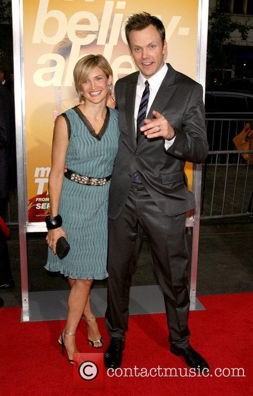Sara McHale, Joel Mchale New York Premiere of...