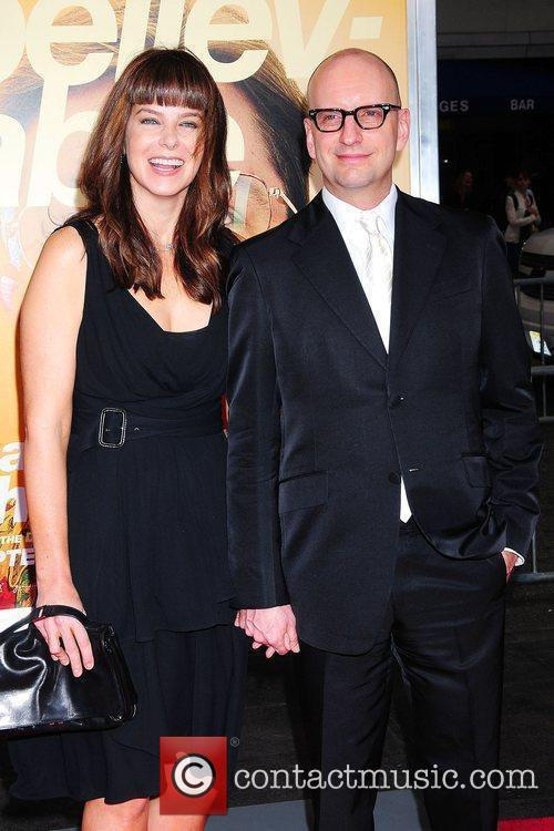 Jules Asner and Steven Soderbergh