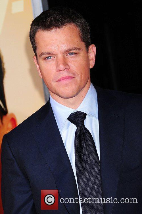 Matt Damon New York Premiere of 'The Informant'...