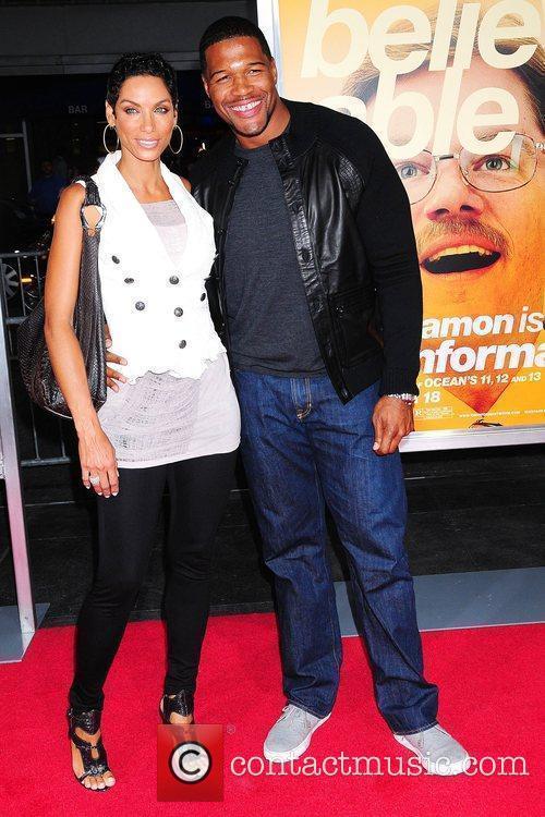Nicole Murphy and Michael Strahan 1