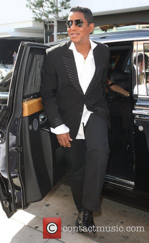 Jermaine Jackson arriving at Mr.Chows in Beverly Hills....