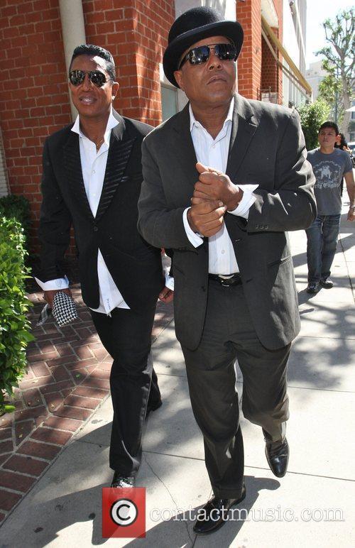 The Jackson Brothers, Jermaine Jackson and Tito Jackson...