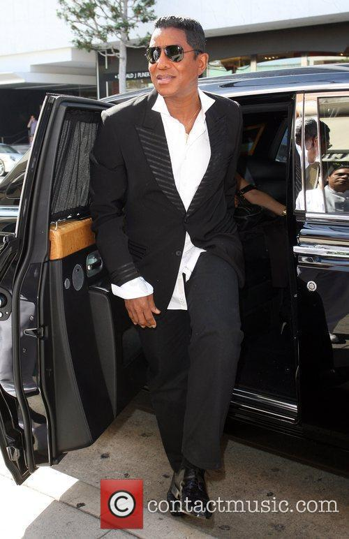 Jermaine Jackson arrives at Mr. Chow in Beverly...