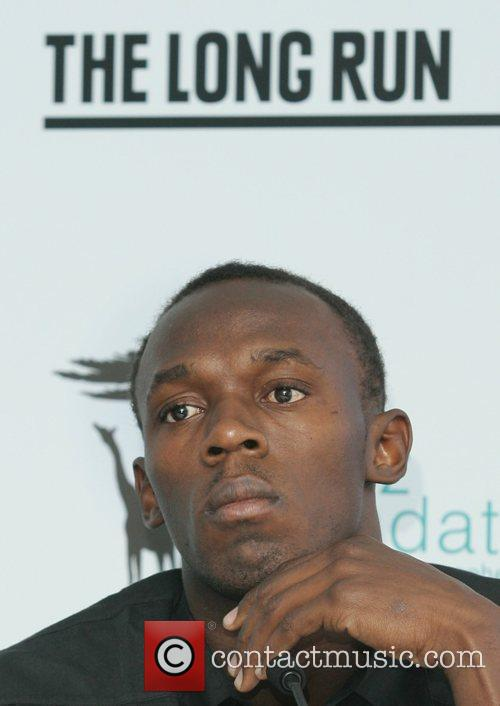 Usain Bolt  promoting The Long Run Conservation...