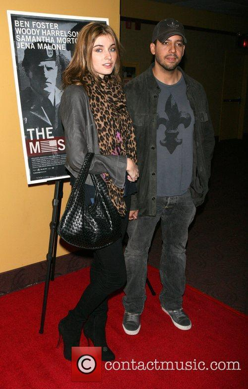 The New York premiere of 'The Messenger' held...