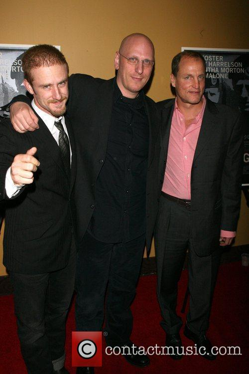 Ben Foster, Oren Moverman and Woody Harrelson 2