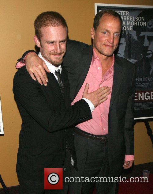 Ben Foster and Woody Harrelson 5
