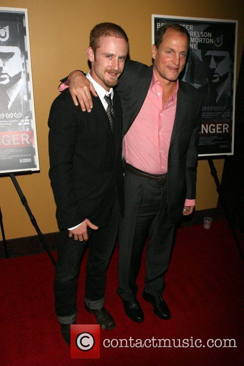 Ben Foster and Woody Harrelson 7
