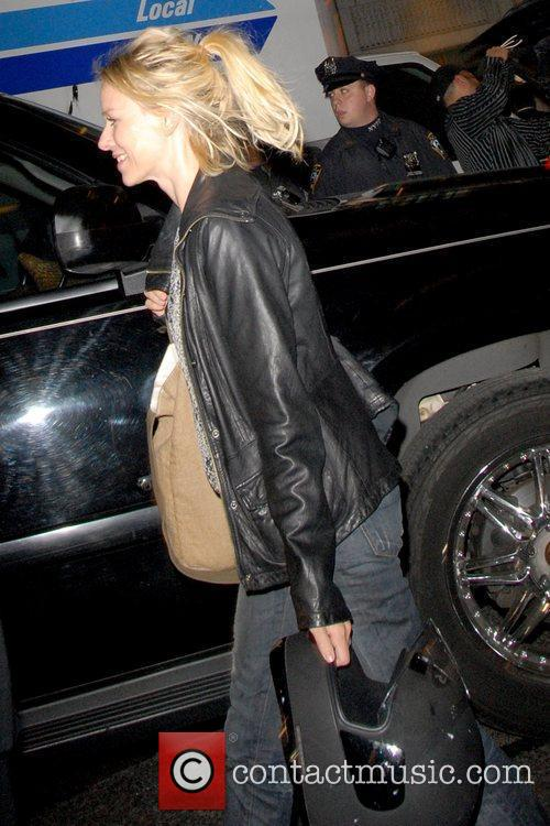 Naomi Watts outside American Airlines Theatre for the...