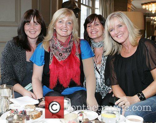 The Nolan Sisters Enjoy Afternoon Tea At A Dublin Hotel 3