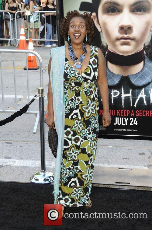 CCH Pounder arrives at the Los Angeles premiere...