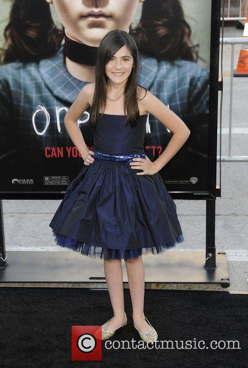 Isabelle Fuhrman and Mann Village Theater 2