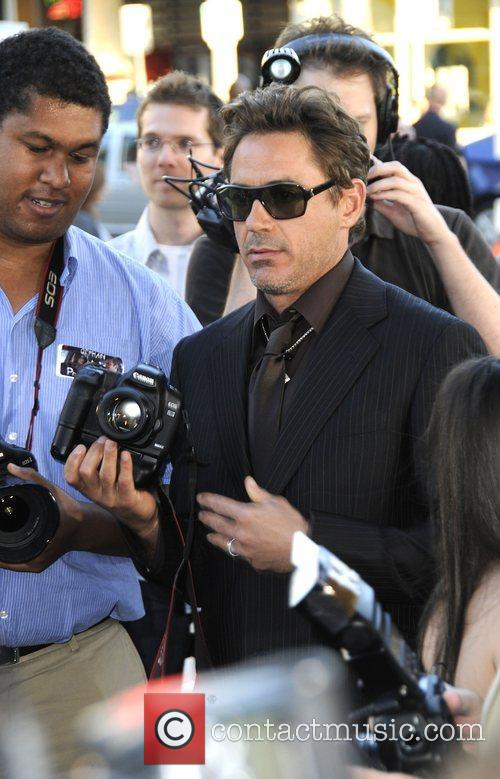Robert Downey Jr and Mann Village Theater 2
