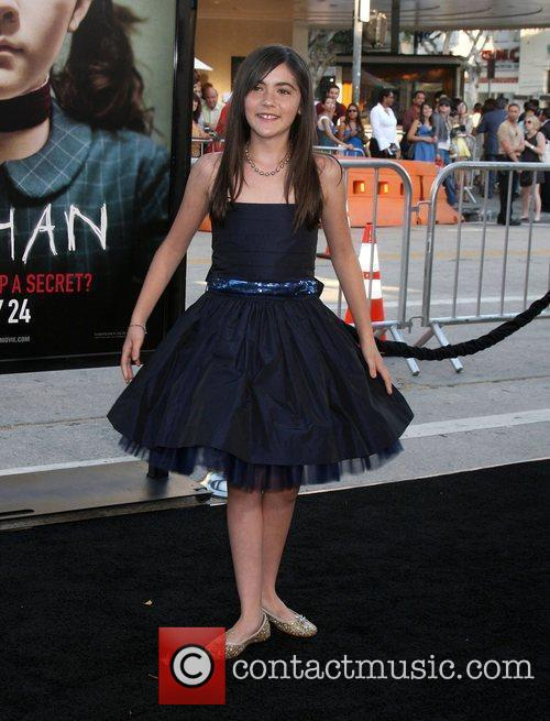 Isabelle Fuhrman and Mann Village Theater 5