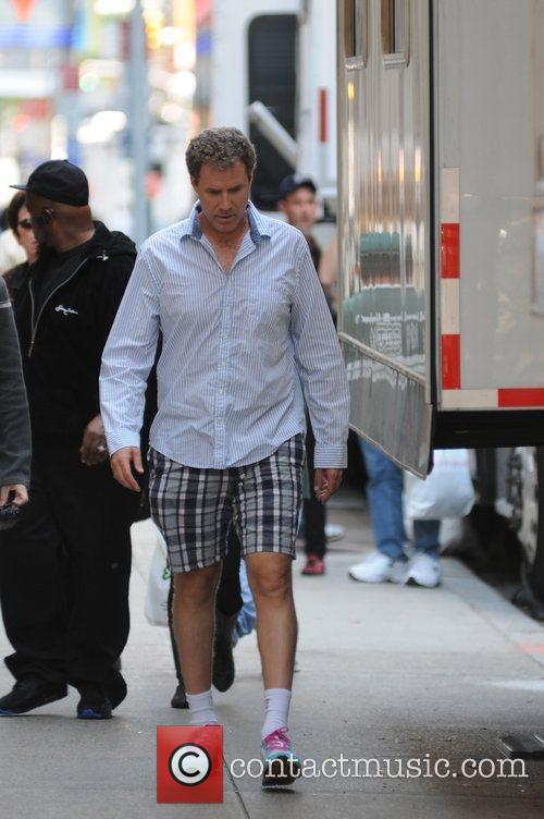 Will Ferrell on the film set of 'The...