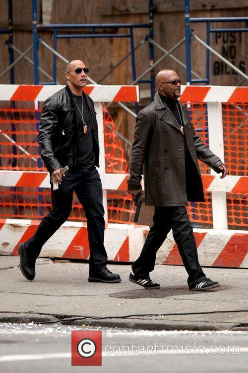 Dwayne Johnson and Samuel L. Jackson 10
