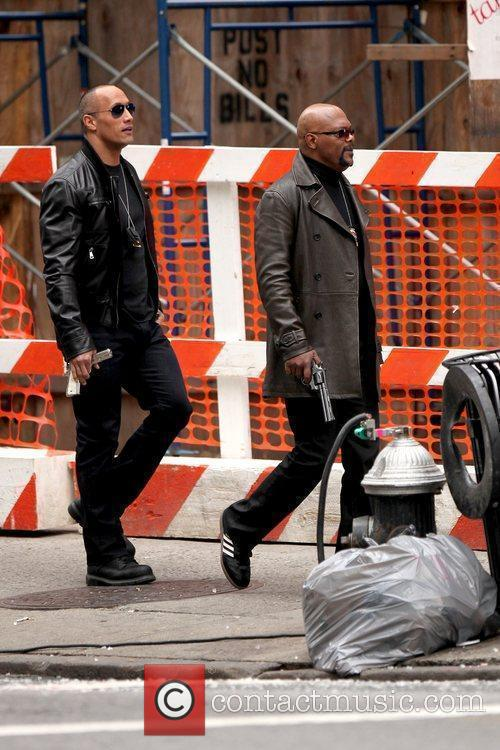 Dwayne Johnson and Samuel L. Jackson 9