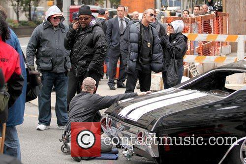 Samuel L. Jackson and Dwayne Johnson celebrities on...